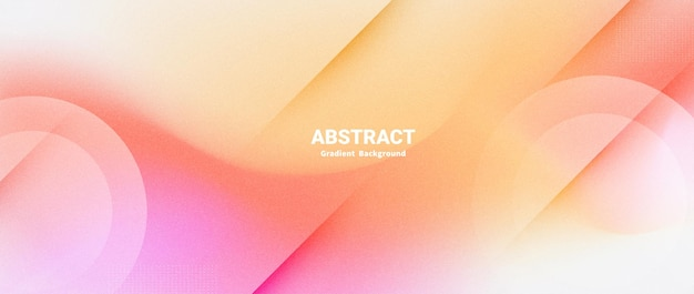 Abstrakter unscharfer hintergrund mit farbverlauf mit körniger textur