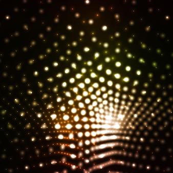 Abstrakter vektor eps10. kreatives dynamisches element, helle neonillustrationen.