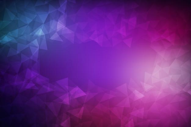 Abstrakter vektor hintergrund. polygon-muster hintergrund