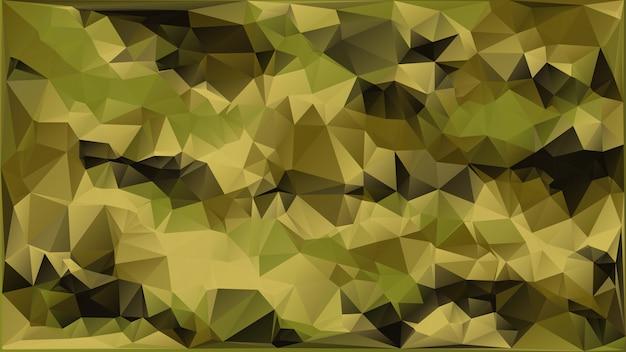 Abstrakter vektor-militär tarnt den hintergrund, der von den geometrischen dreieck-formen gemacht wird. polygonale art.