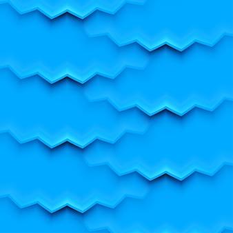 Abstrakter vektorhintergrund mit blauen schichten