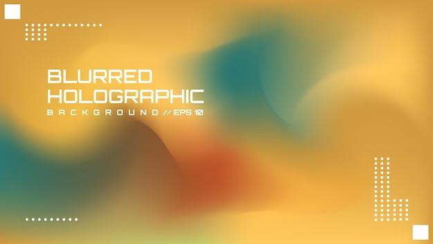 Abstrakter verschwommener holografischer hintergrund 4