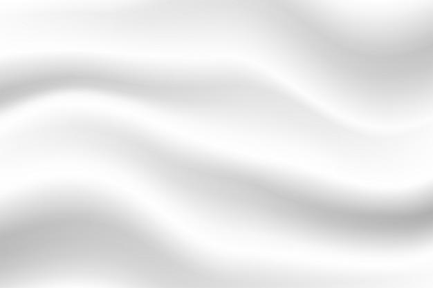 Abstrakter weißer hintergrund, schönes weiß geknitterter gewebehintergrund
