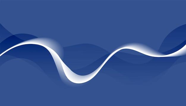 Abstrakter wellenförmiger hintergrund mit linearer welle