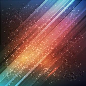 Abstrakter zukünftiger vektorhintergrund