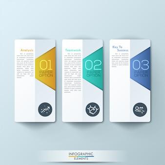 Abstraktes 3d digitales infographic