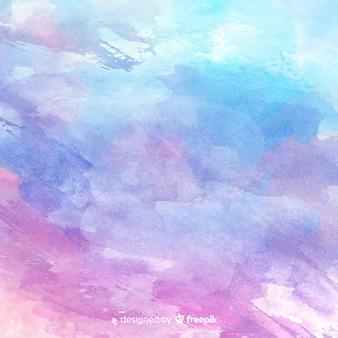 Abstraktes aquarell befleckt hintergrund