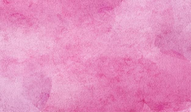 Abstraktes aquarell handgemalt für den hintergrund. die hellrosa aquarellflecken-vektortextur ist ideal für elemente im dekorativen design