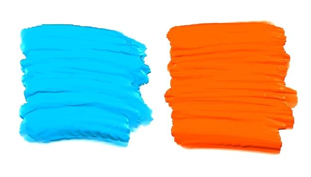Abstraktes aquarellfarben-setground