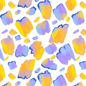 Abstraktes aquarellmuster