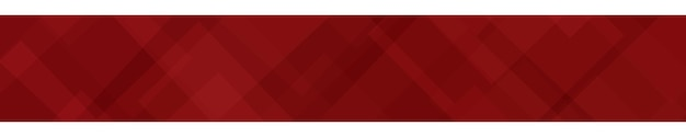 Abstraktes banner aus durchscheinenden quadraten oder rauten in roten farben