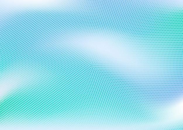 Abstraktes blau punktiert und steigungshintergrund