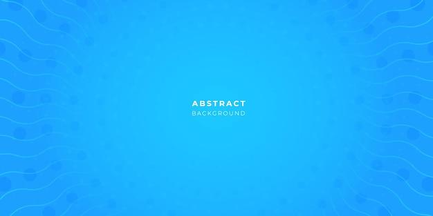 Abstraktes blaues blasenhintergrunddesign