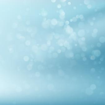 Abstraktes blaues kreisförmiges bokeh.
