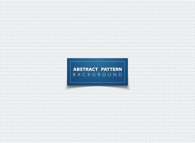 Abstraktes blaues minimales punktmusterdesign.