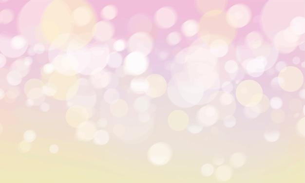 Abstraktes bokeh unscharfe leuchtentapete