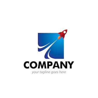Abstraktes booster-logo