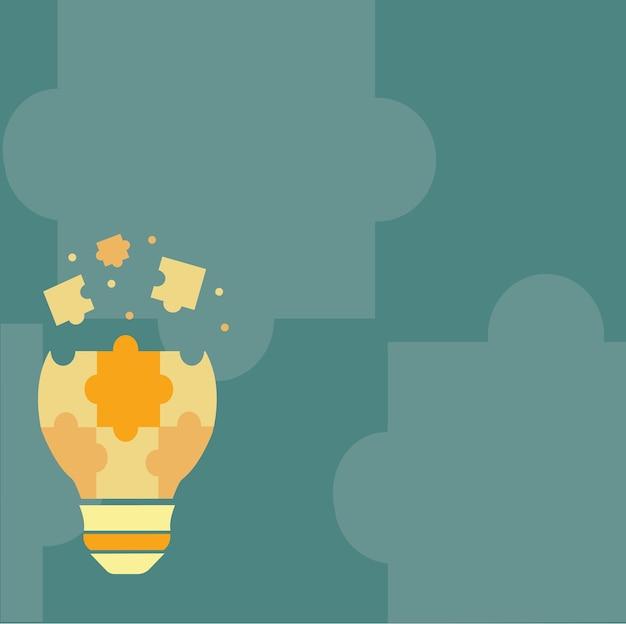 Abstraktes brainstorming-problemlösungen sorgfältiges denken konzept kritisches logisches denken