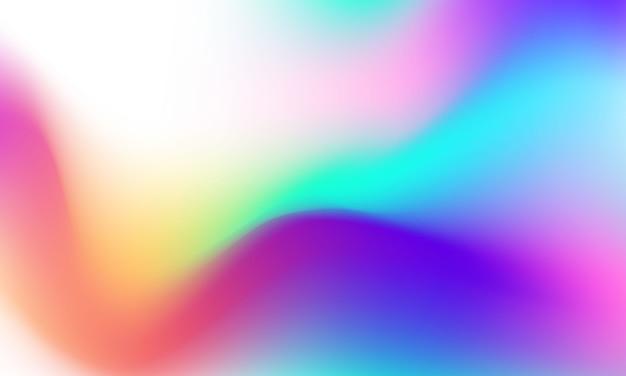 Abstraktes buntes flüssiges gradientenhintergrund-ökologiekonzept für ihr grafikdesign,