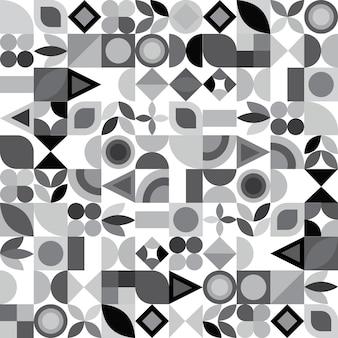 Abstraktes buntes geometrisches design. vektor-illustration. muster kann als vorlage für broschüre, jahresbericht, magazin, poster, präsentation, flyer und banner verwendet werden.