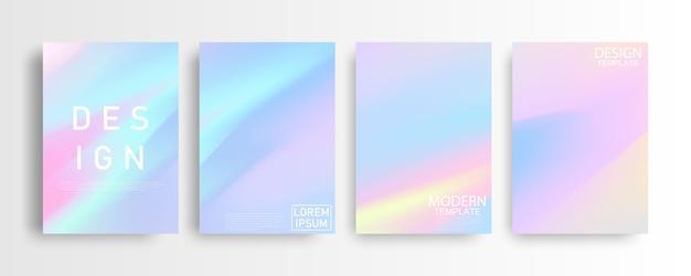 Abstraktes buntes pastellhintergrund-hintergrund-a4-konzept für ihr grafisches buntes design, layout-design-vorlage für broschüre