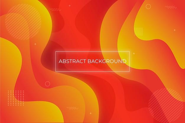 Abstraktes design der flüssigen zusammensetzung