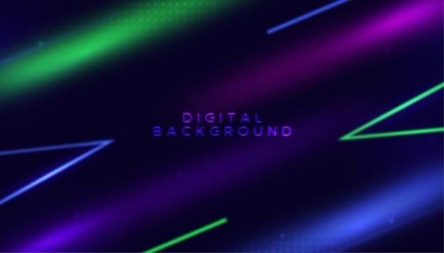 Abstraktes digitales hintergrunddesign