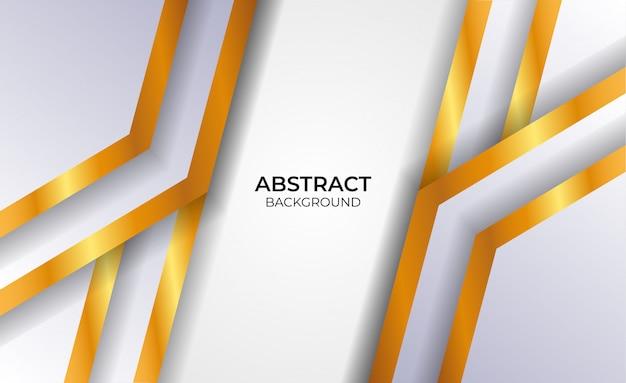 Abstraktes elegantes designgrau und gold