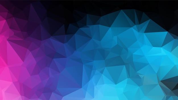 Abstraktes farbpolygon-hintergrund-design