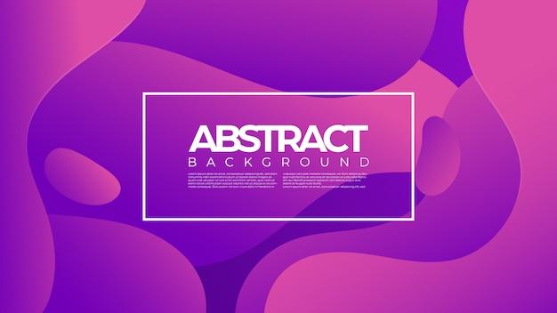 Abstraktes futuristisches flüssiges element des formhintergrundes
