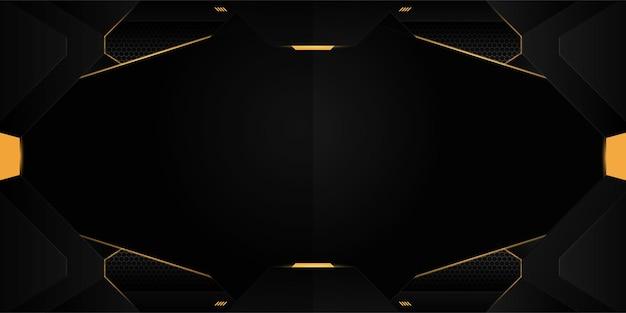 Abstraktes futuristisches gaming-hintergrunddesign