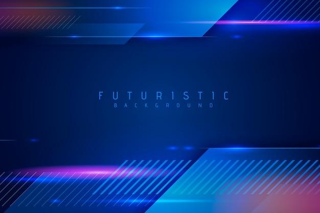 Abstraktes futuristisches tapetendesign