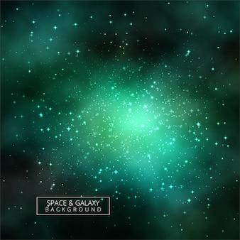Abstraktes galaxiehintergrund-universumdesign