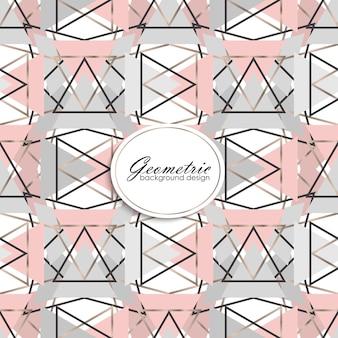 Abstraktes geometrisches Luxusmuster. Mode Hintergrund