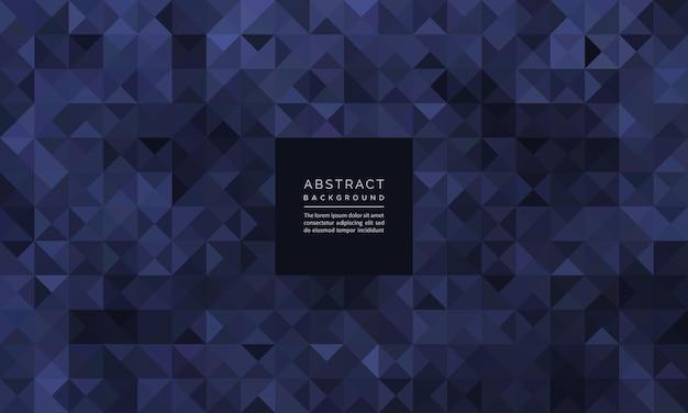 Abstraktes geometrisches mosaik aus schwarzem rautenmuster und hintergrund