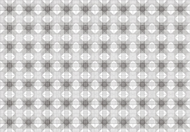 Abstraktes geometrisches muster, ein nahtloser hintergrund.