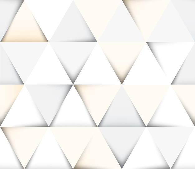 Abstraktes geometrisches nahtloses muster mit dreiecken