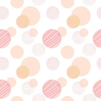 Abstraktes geometrisches nahtloses muster. modernes abstraktes design für cover, stoff, papier, inneneinrichtung und andere benutzer.