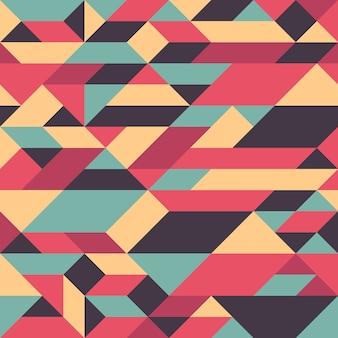 Abstraktes geometrisches nahtloses muster.