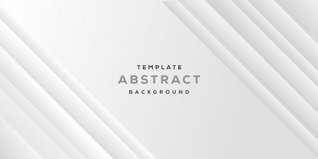 Abstraktes geometrisches unbedeutendes design mit weißem grauem geschäftshintergrund