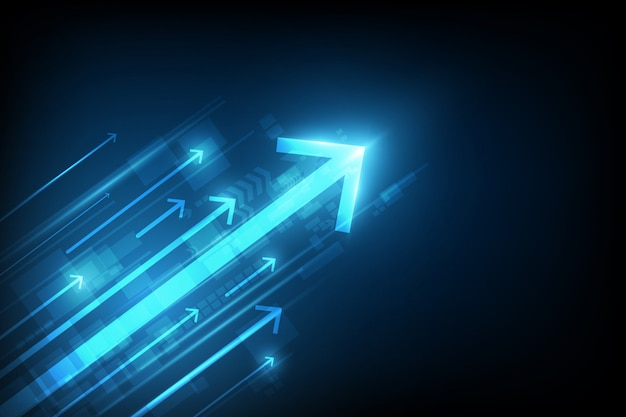 Abstraktes geschwindigkeitstechnologiekonzept. vektor-illustration hintergrund