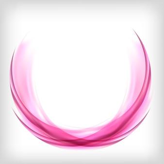 Abstraktes gestaltungselement im rosa