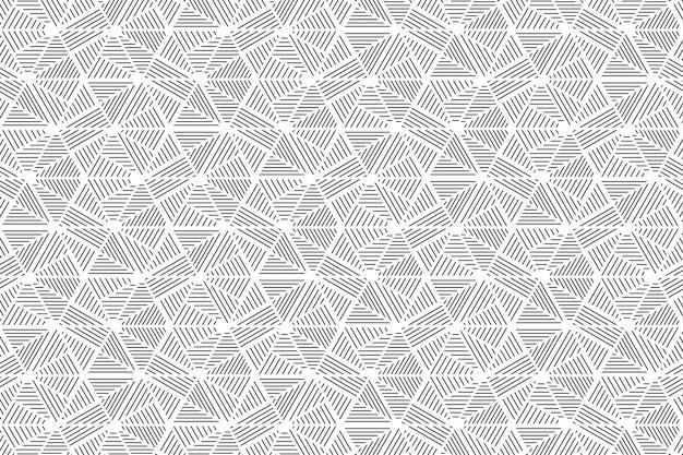 Abstraktes graues dreieck zeichnet musterhintergrund