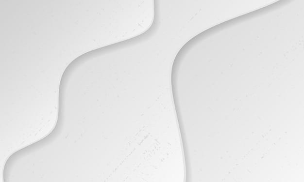 Abstraktes graues hintergrundplakat mit dynamischen wellen. technologie-netzwerk vektor-illustration.