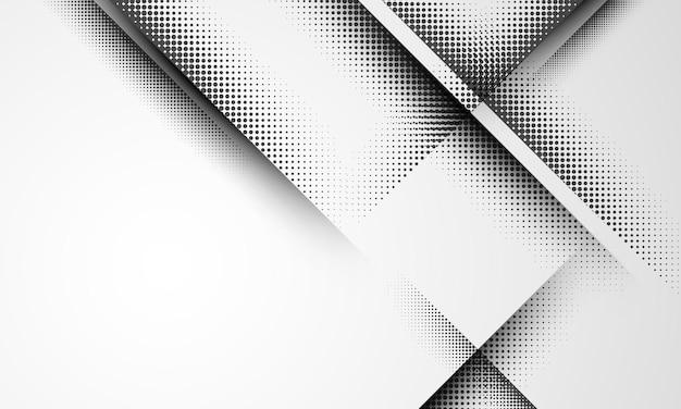 Abstraktes halbtonkonzept für ihr grafikdesign graphic
