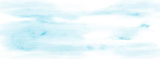 Abstraktes hellblaues aquarell für hintergrund. färben sie künstlerischen vektor