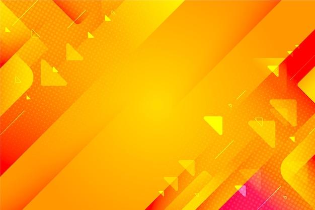 Abstraktes hintergrunddesign mit farbverlauf