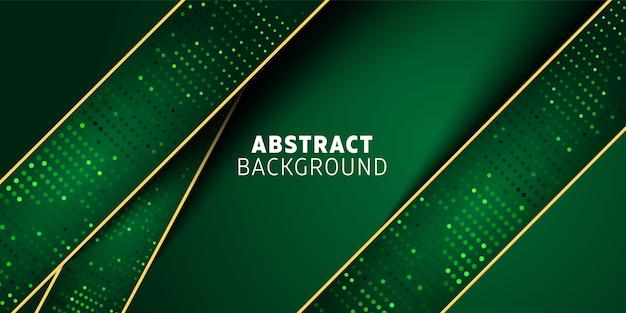 Abstraktes hintergrunddesign mit geometrischen formen und elementen