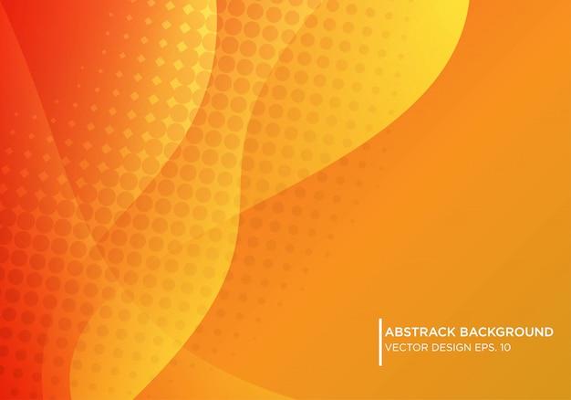 Abstraktes hintergrunddesign mit wellenartig bewegender form
