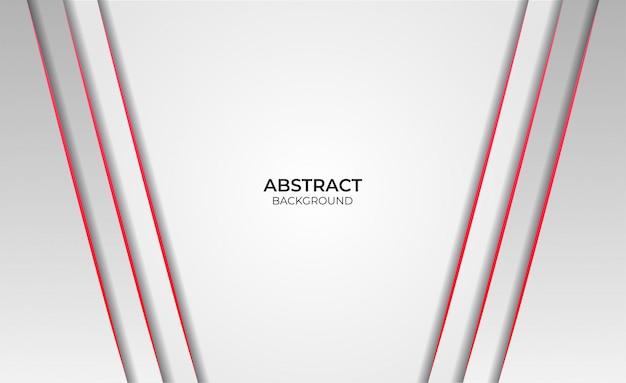 Abstraktes hintergrunddesign rot und weiß